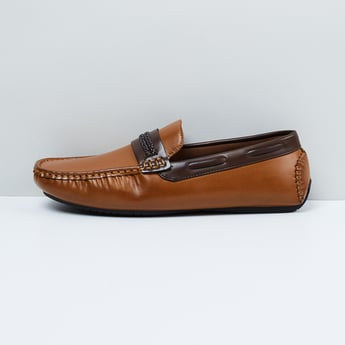 MAX Solid Penny Loafers