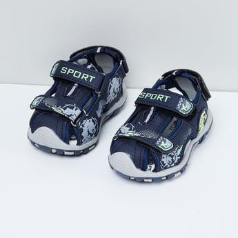MAX Printed Slingback Sandals