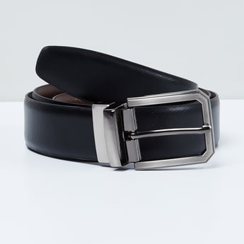 MAX Textured Belt with Buckle Closure