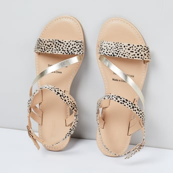 MAX Printed Strappy Sandals