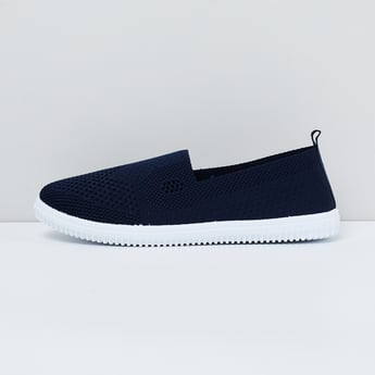 MAX Perforated Textured Slip-On Shoes