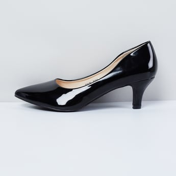 MAX Solid Pointed-Toe Heels