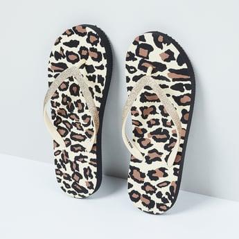 MAX Animal Print Flip-Flops