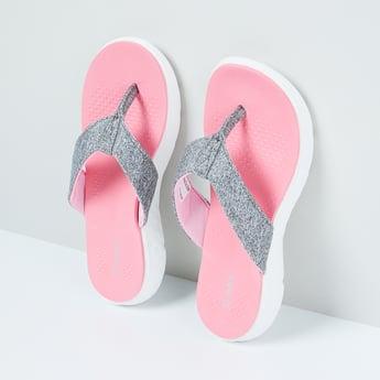 MAX Printed Flip-Flops with Flatform Heels