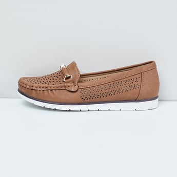 MAX Laser Cut Bit Loafers