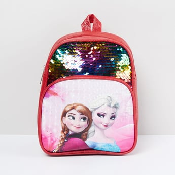 MAX Sequinned Zip-Closure Backpack