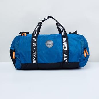 MAX Printed Zip-Closure Gym Bag