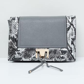 MAX Reptilian Texture Sling Bag