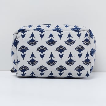 MAX Floral Embellished Cosmetic Pouch