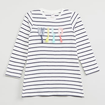 MAX Embellished T-shirt with Tassels