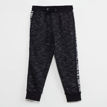 MAX Heathered Elasticated Joggers