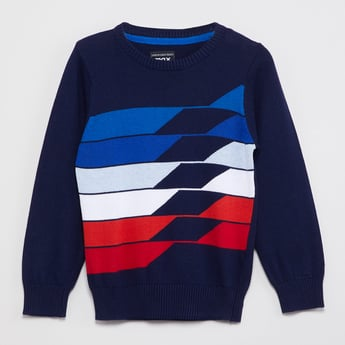 MAX Patterned Knitted Sweater