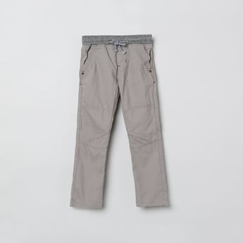 MAX Solid Elaticated Trousers