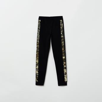 MAX Sequin Embellished Elasticated Leggings
