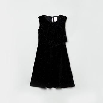 MAX Embellished Ruffle Detailed Dress