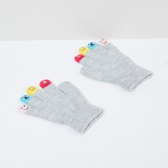 MAX Printed Knitted Gloves