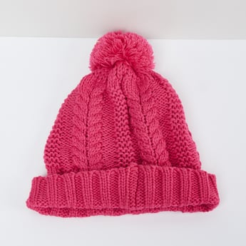 MAX Patterned Knit Beanie