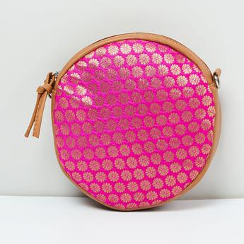 MAX Jacquard Patetterned Sling Bag