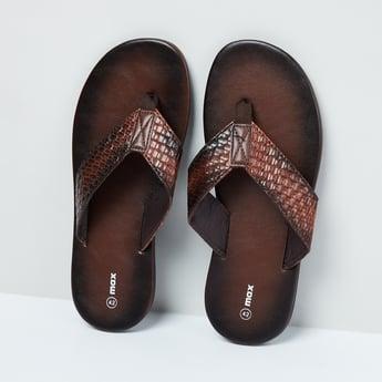 MAX Textured Thong Sandals