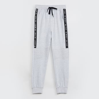 MAX Printed Tape Detailed Joggers