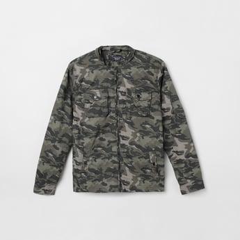 MAX Camouflage Print Full Sleeves Jacket