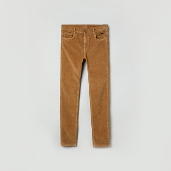 MAX Textured 5-Pocket Pants