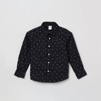 MAX Printed Shirt with Bow