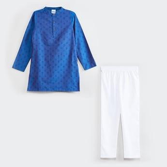 MAX Printed Kurta with Solid Pyjama