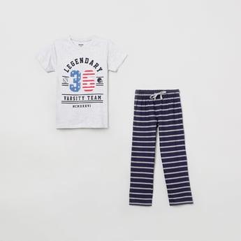 MAX Printed T-shirt with Pyjama
