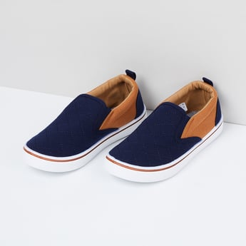 MAX Quilted Slip-On Shoes