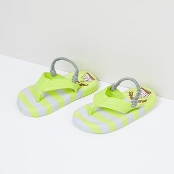 MAX Printed Slingback Strap Flip-Flops
