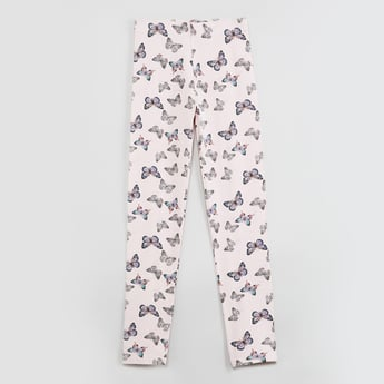 MAX Butterfly Print Elasticated Leggings