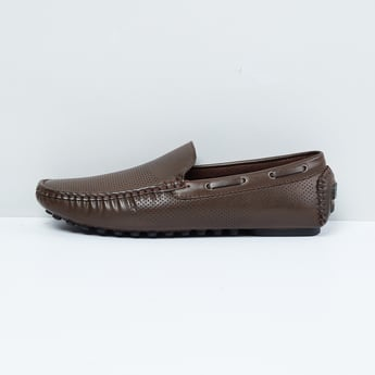 MAX Perforated Casual Loafers
