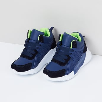 MAX Colourblock Mid-Top Casual Shoes