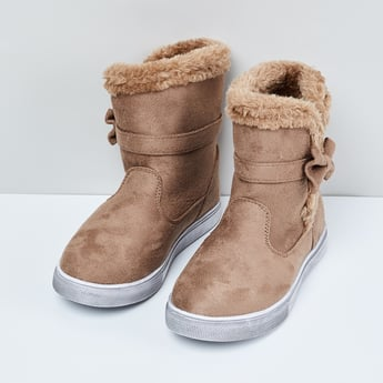 MAX Solid High-Top Boots