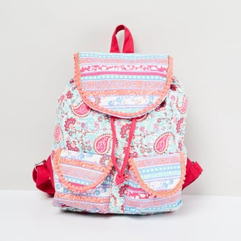 MAX Paisley Print Backpack