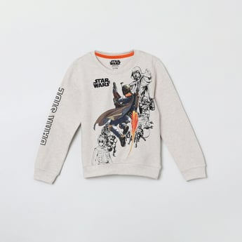MAX Printed Full Sleeves Sweatshirt