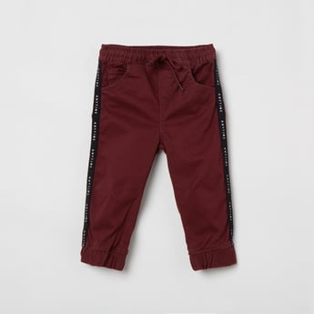 MAX Solid Elasticated Jogger Pants