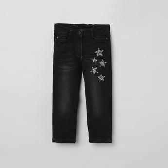MAX Embellished Slim Fit Jeans