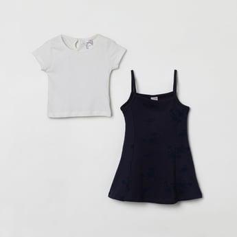 MAX Solid Layered Dress