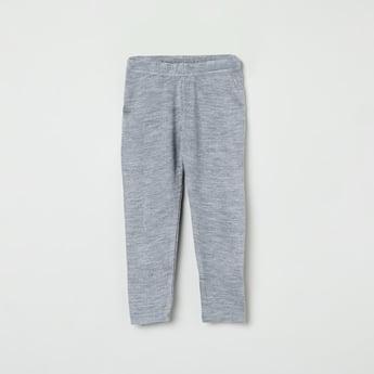 MAX Solid Flat-Knit Leggings