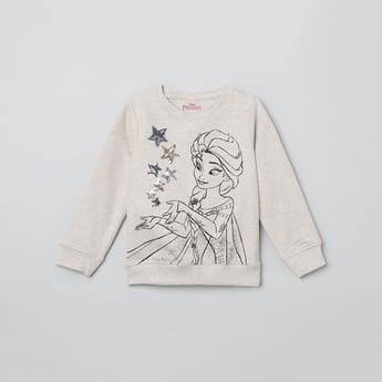 MAX Sequinned Full Sleeves Sweatshirt