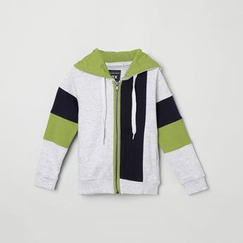 MAX Colourblocked Hooded Sweatshirt