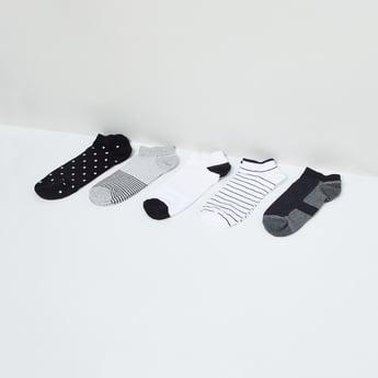MAX Striped Colourblock Socks - Pack of 5 Pcs.