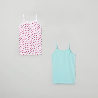 MAX Printed Knitted Camisole - Pack of 2