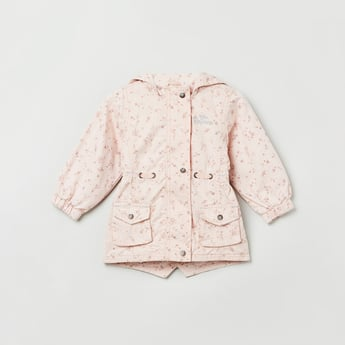 MAX Printed Hooded Jacket