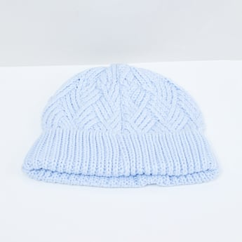 MAX Pointelle Knitted Beanie