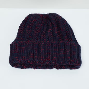 MAX Textured Knitted Beanie