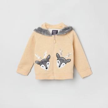 MAX Applique Hooded Sweatshirt
