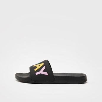 Printed Slip-On Beach Slippers